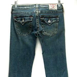 True Religion - Becky Jeans - Size 27 - 33 Inseam